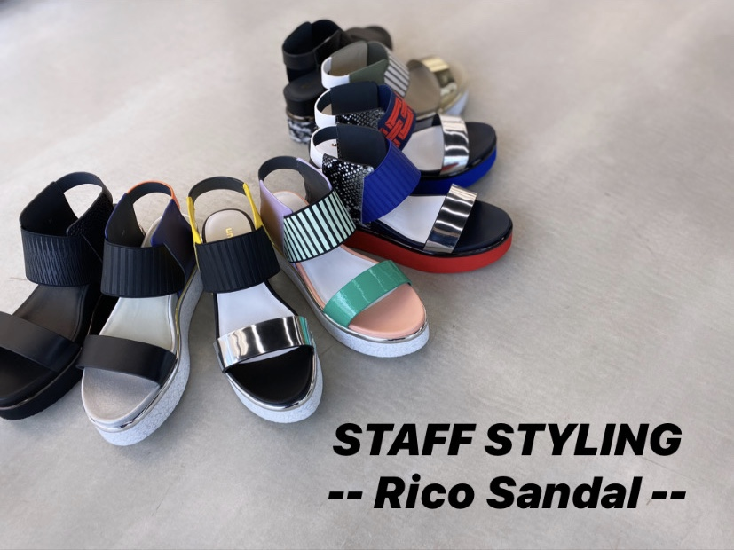 STAFF STYLING-Rico Sandal×Socks-