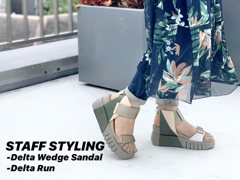 STAFF STYLING-Delta Run/Delta Wedge Sandal-