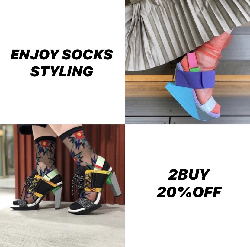 ENJOY SOCKS STYLING